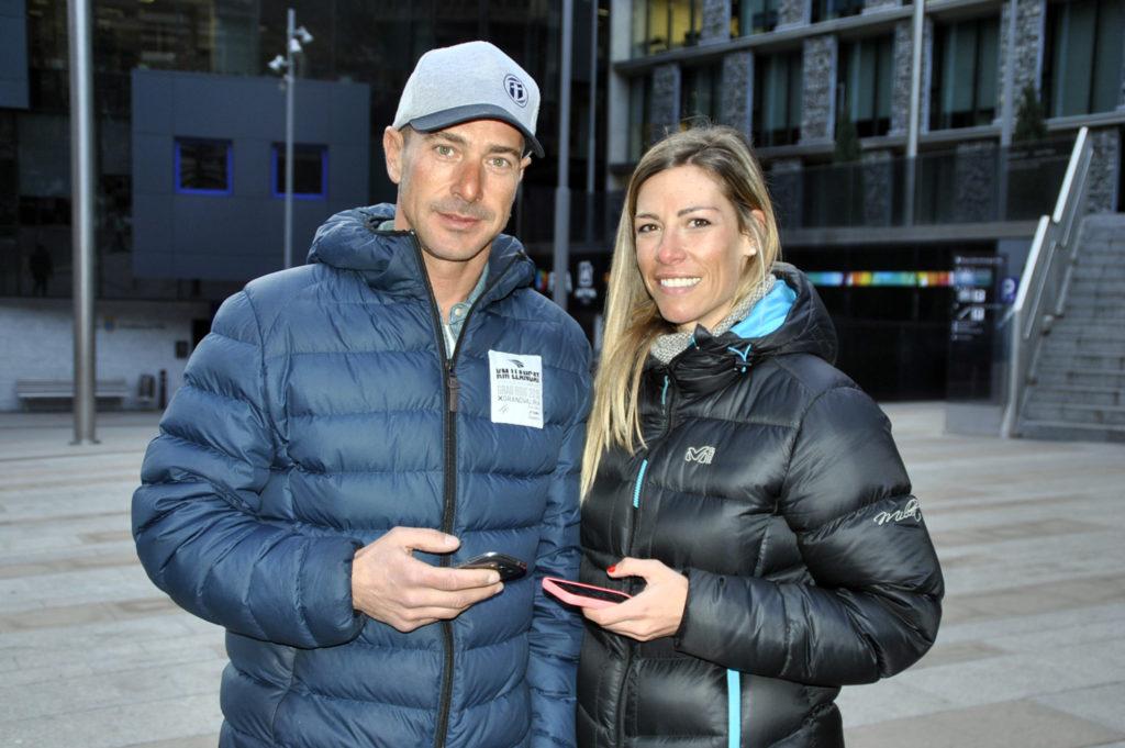 Julie Grard y Antonio Moreno, los profesores de Grandvalira creadores de la App