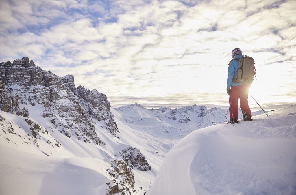 La capital tirolesa abre un amplio espacio para el deporte blanco con 300 Km. de pistas FOTO: Innsbruck.info