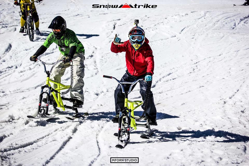 La nueva modalidad hará las delicias a los amantes de la bicicleta y la nieve