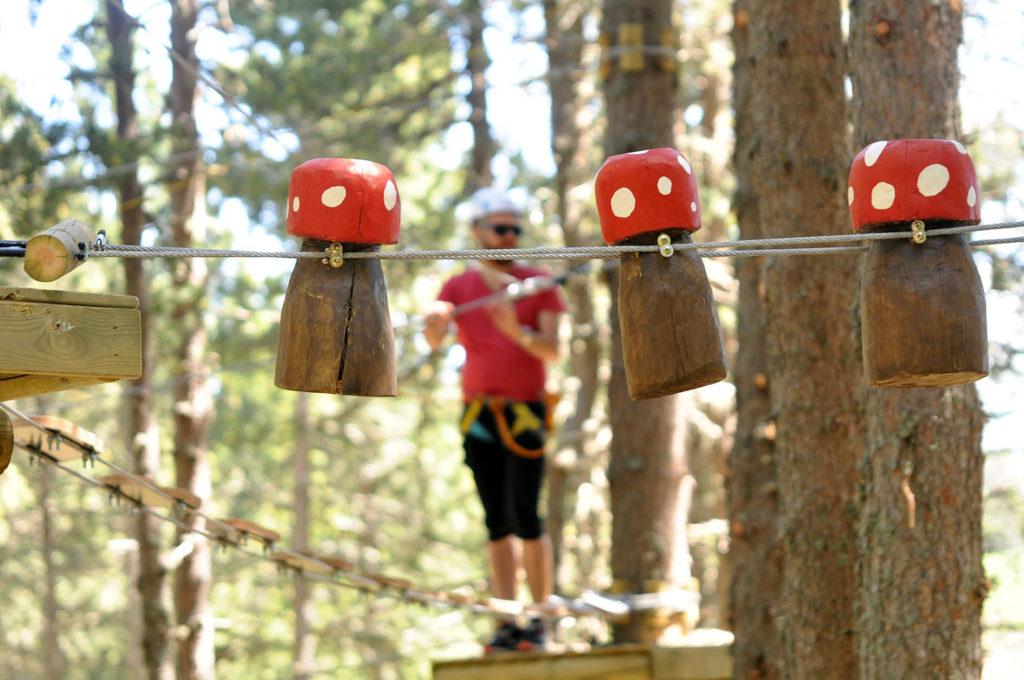 Las actividades infantiles y de aventura han crecido en número de usuarios, y han destacado sobre todo las novedades de la temporada, como el parque de cuerdas o el karting eléctrico
