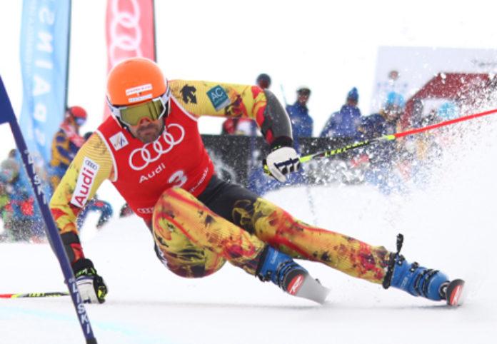 Quim Salarich sigue fogueándose en carreras FIS y mañana estará en el slalom de Schlaming de la Copa del Mundo FOTO: Barrio http://www.fotobarrio.es/