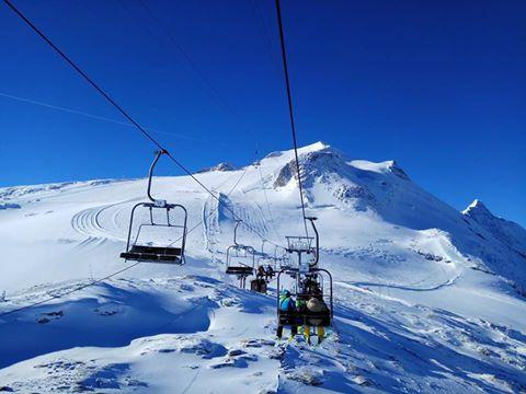 El glaciar de la Grande Motte presenta condiciones inigualables de nieve