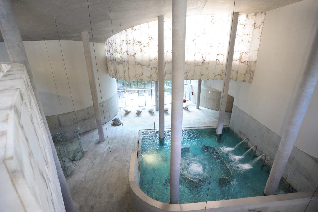 Las Termas Tiberio son las mismas que se utilizaban en época de los romanos FOTO: Resort Balneario panticosa