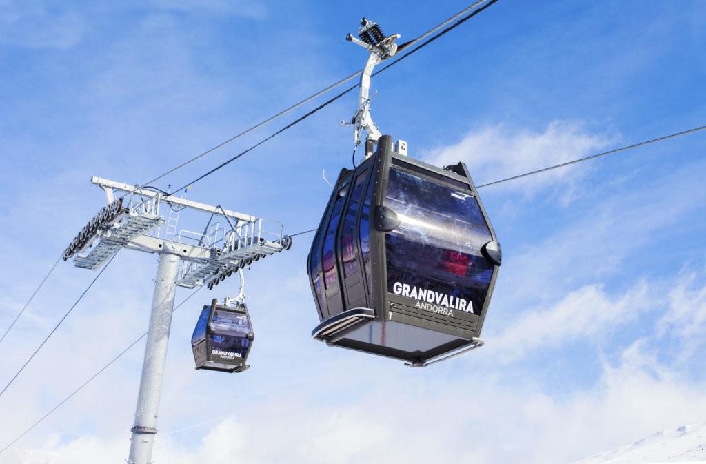 El dominio desplazará este invierno un total de106.950 esquiadores por hora, 6.250 más que en la temporada anterior FOTO: Grandvalira