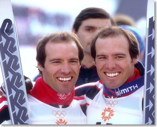 Phil y Steve Mahre, los últimos ganadores de las carreras de la Copa del Mundo disputadas en el estado de Vermont hace nada menos que 38 años FOTO: @History_Buffs