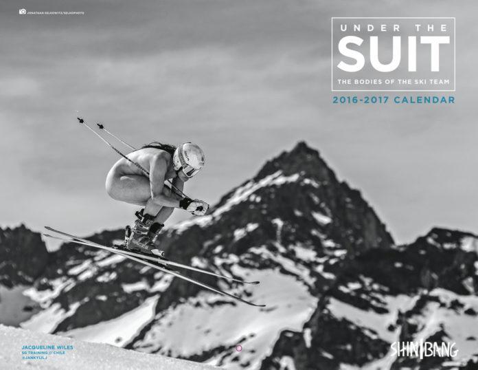 El calendario de los equipos de alpino de Estados Unidos tiene fines benéficos FOTO: http://www.alpine-aspirations.com