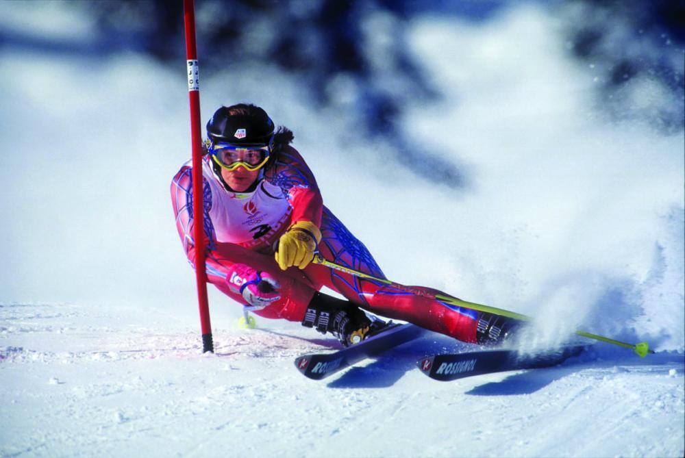Julie Parisien sólo disputó cuatro ediciones de la Copa del Mundo FOTO: http://www.skinet.com