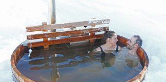 Baños al aire libre en Gourette