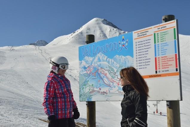 Val Louron en los altos Pirineos