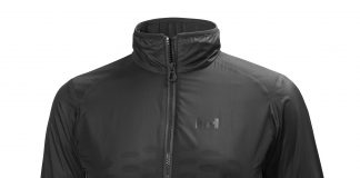 La HH Odin Flow Jacket ofrece lo último en aislamiento y ventilación FOTO: Helly Hansen