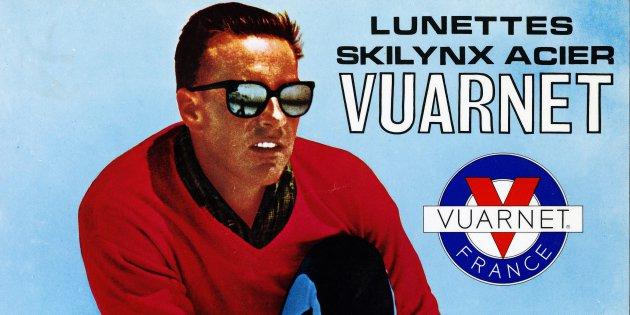 Las gafas de sol Vuarnet, una creación del campeón olímpico fallecido FOTO: Vuarnet.com