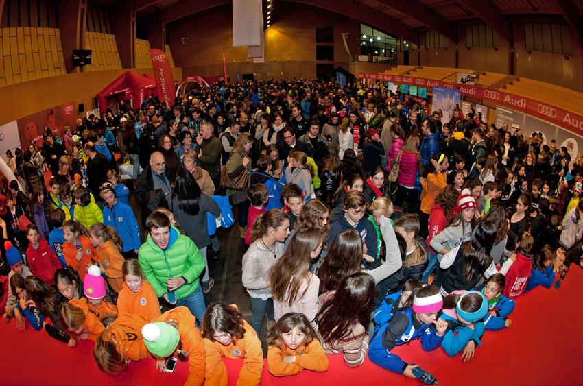 En el Pabellón de Alp tendrá lugar la entrega de premios y la fiesta FOTO: RFEDI