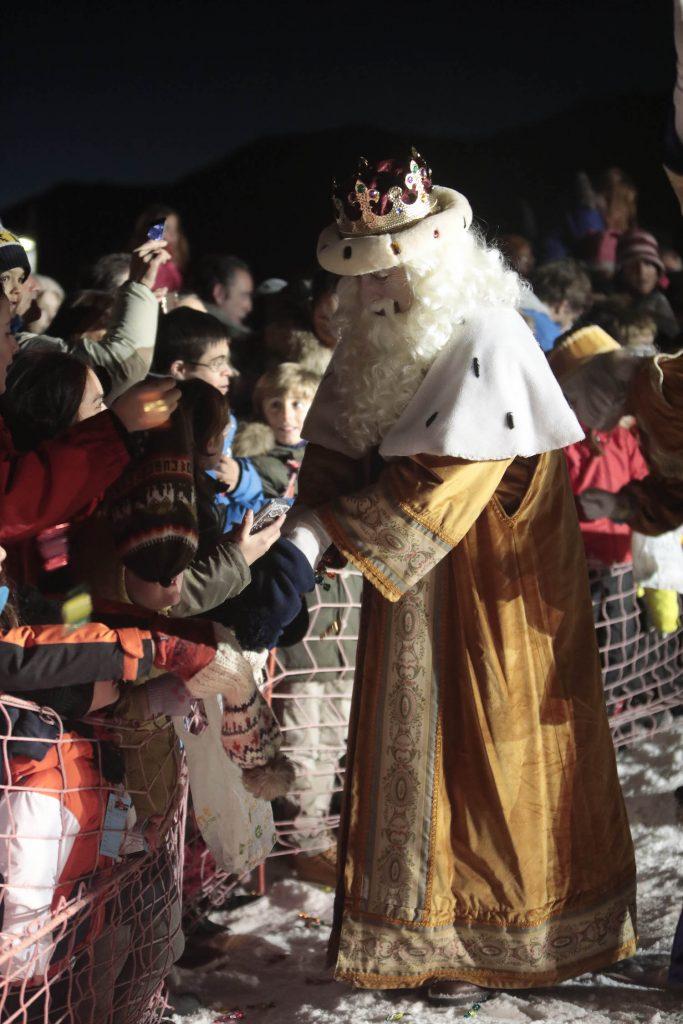 Reyes Magos en baqueira