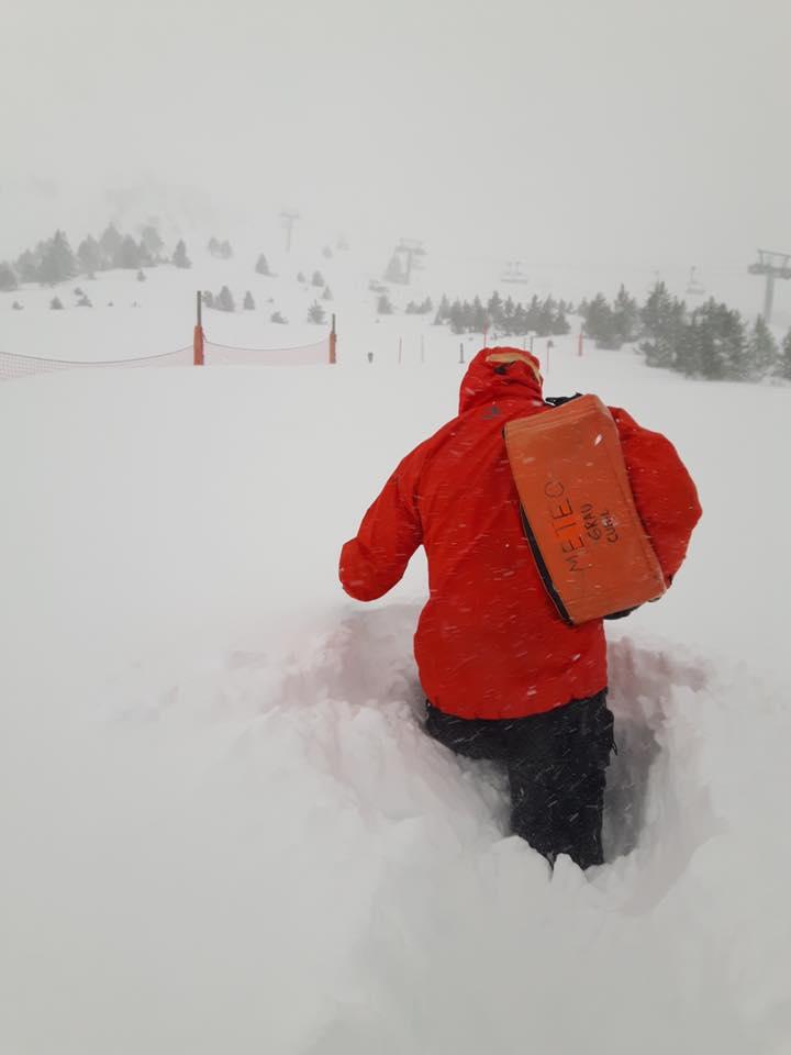 nevada en Grandvalira