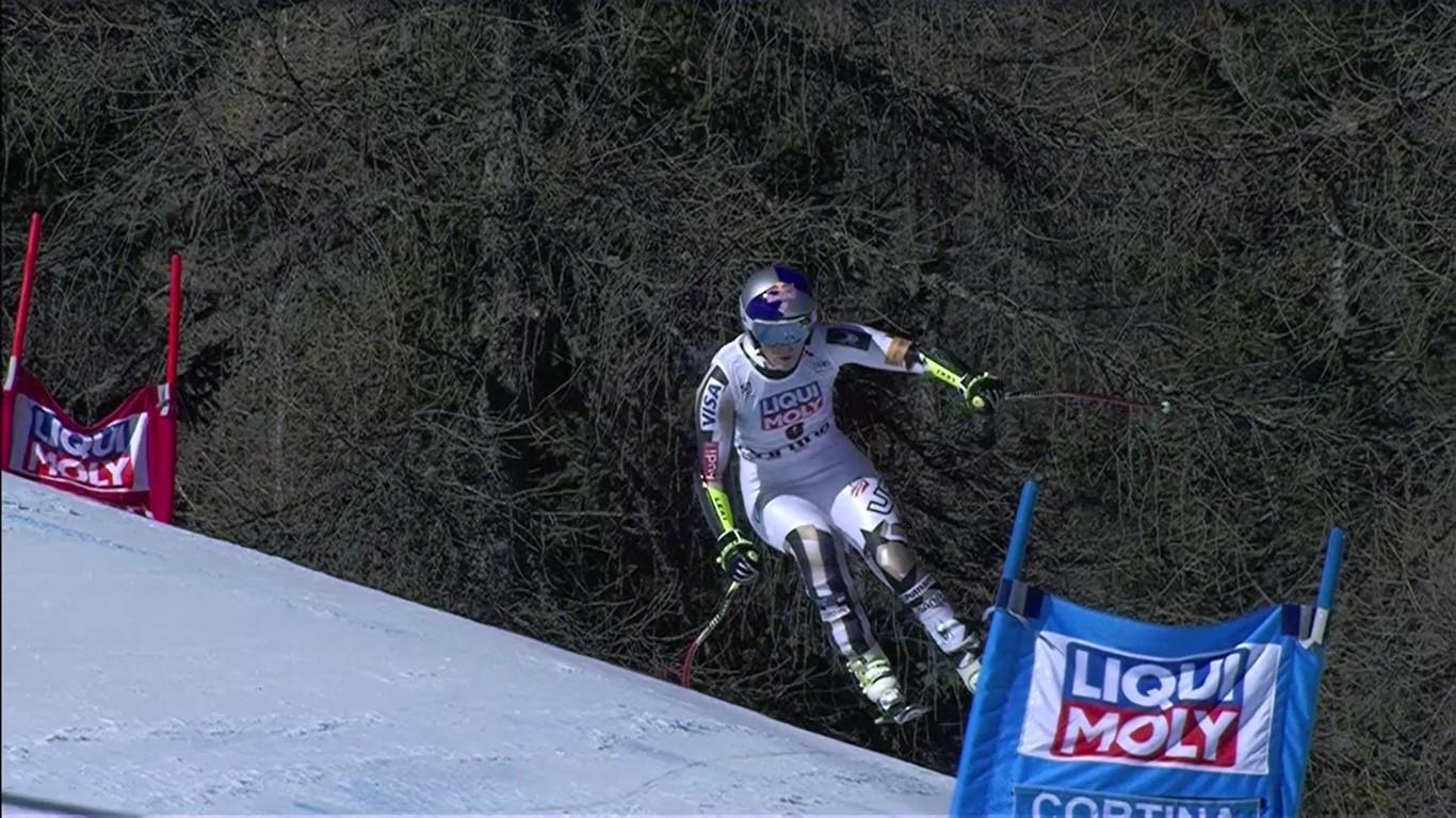 Lindsey Vonn, duodécima, mostró falta de confianza y de ritmo de competición FOTO: Eurosport