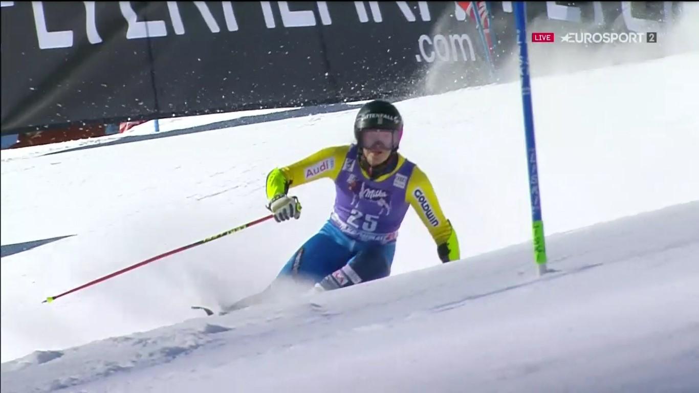 Sara Hector ha firmado una espectacular remontada aque le ha valido para acabar sexta FOTO: Eurosport