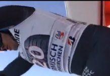 La Federación francesa ha desmentido que Graud Moine sufra fracturas en las dos piernas. Pero todavía no hay un comunicado oficial FOTO: Eurosport