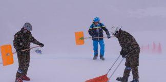 El mal tiempo ha obligado a cancelar los primeros entrenamientos del Mundial de St Moritz FOTO: @stmoritz2017