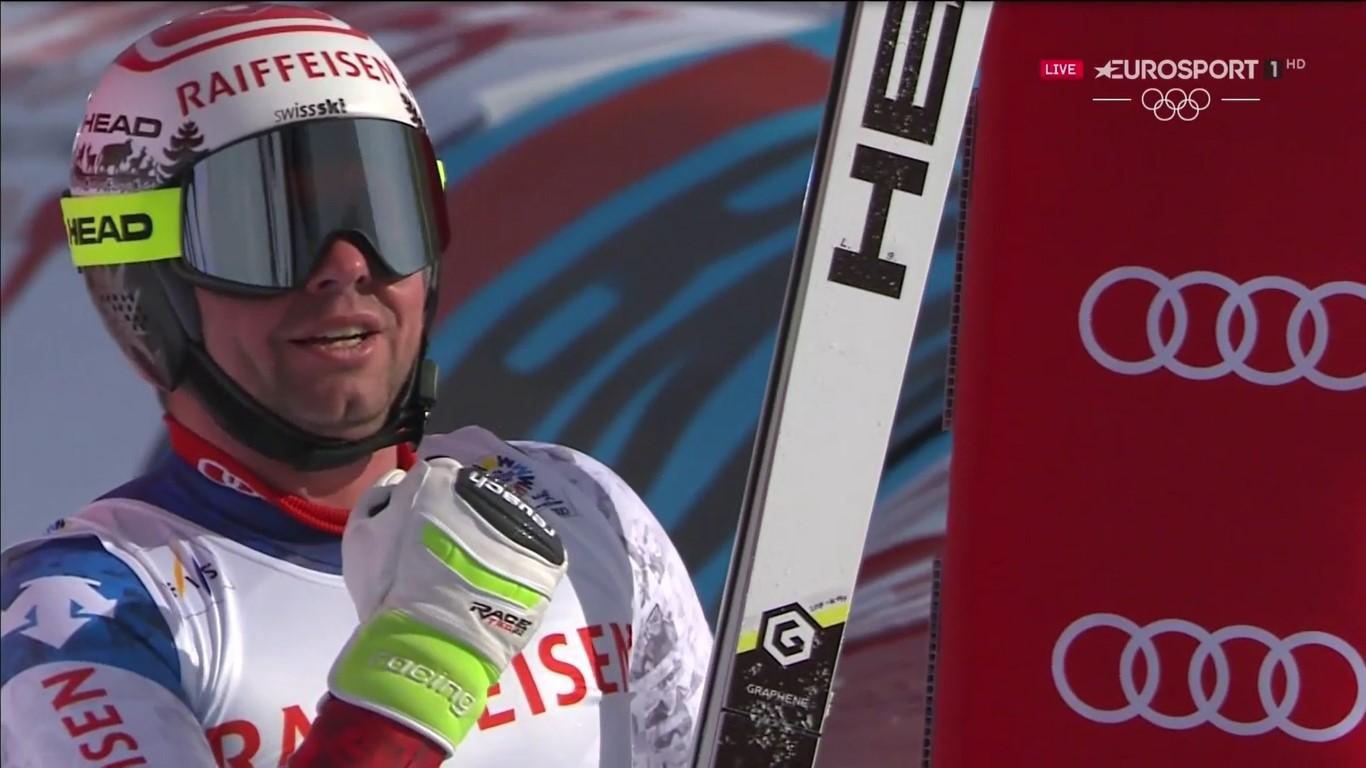 Beat Feuz ha ganado el título de campeón del mundo de descenso el día después de su trigésimo aniversario FOTO: Eurosport