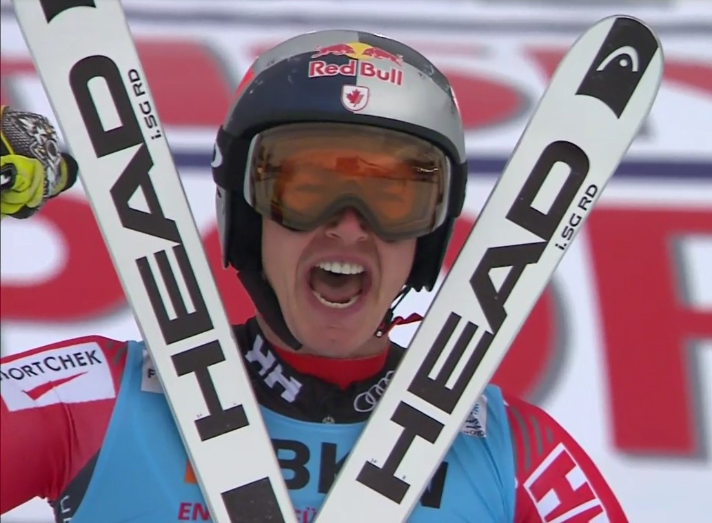 Erik Guay se ha proclamado por segunda vez campeón del mundo de descenso FOTO: Eurosport
