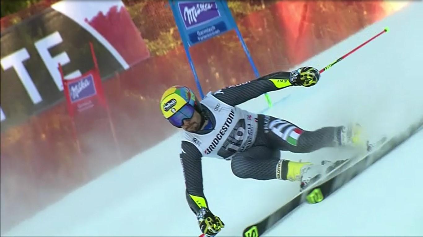 De Aliprandini es baja para el super G y su presencia en el gigante es dudosa FOTO: Eurosport