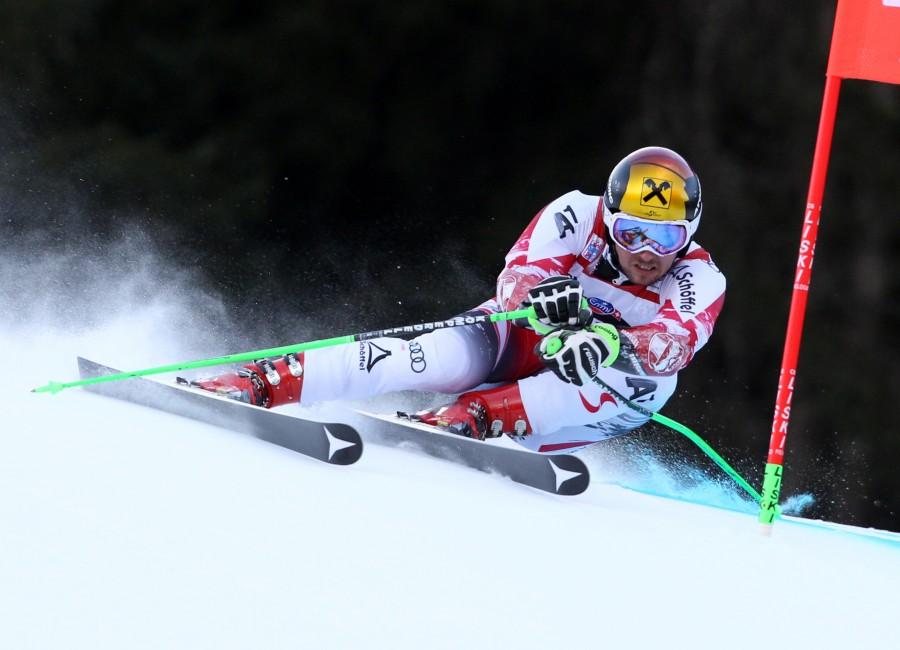 Marcel Hirscher llega al Mundial de St Moritz como el gran favorito en las disciplinas técnicas