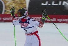 Después de dos platas en los Mundiales de Schladming y Vail Marcel Hirscher por fin se cuelga el oro en el gigante. El domingo irá a por el de slalom FOTO: Eurosport