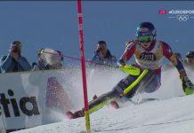 Mikaela Shiffrin no ha tenido rival a la hora de proclamarse campeona del mundo de slalom por tercera vez consecutiva FOTO: Eurosport