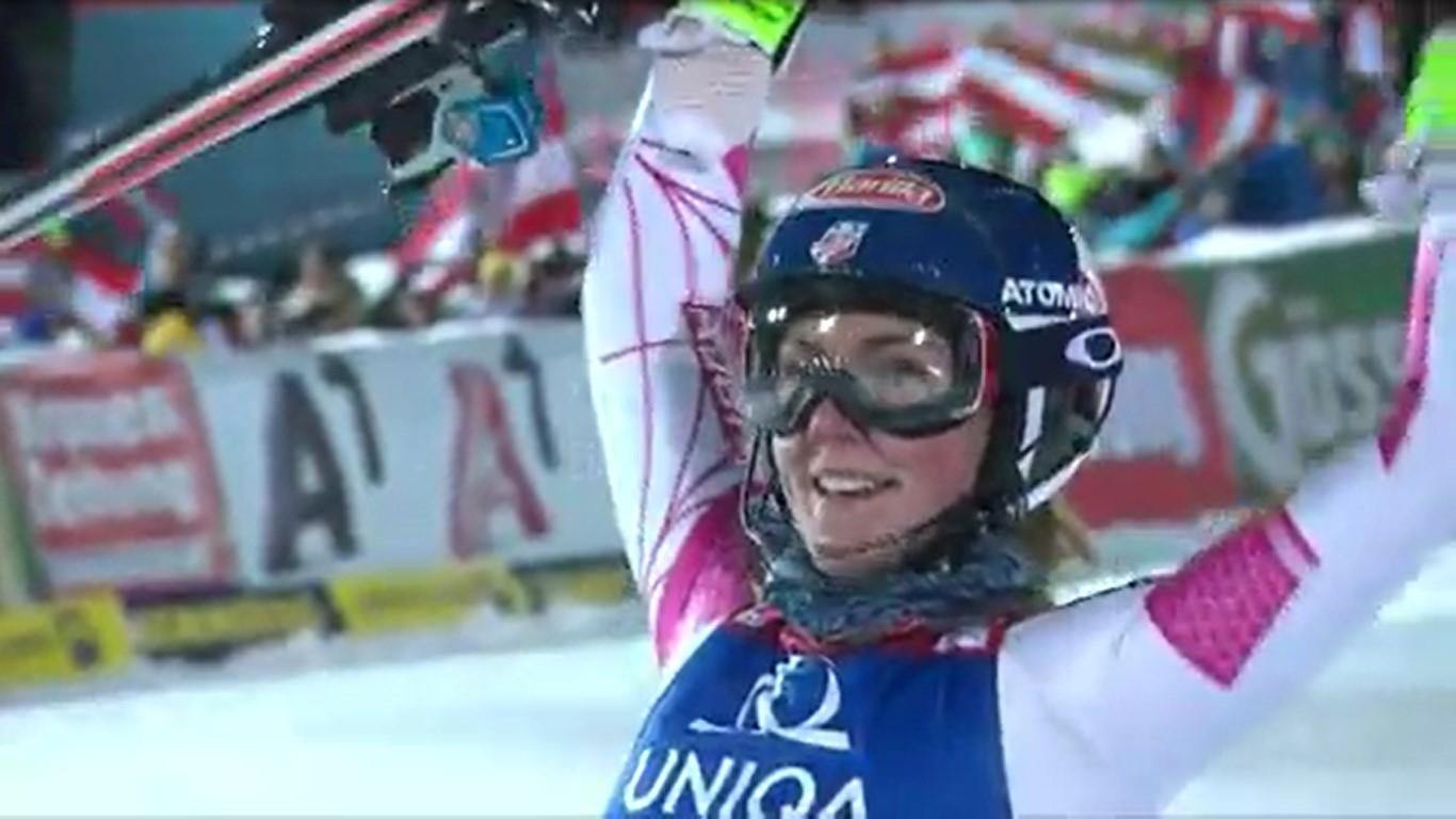 Mikaela Shiffrin optará, por lo menos, a un tercer oro en un Mundial FOTO: Eurosport