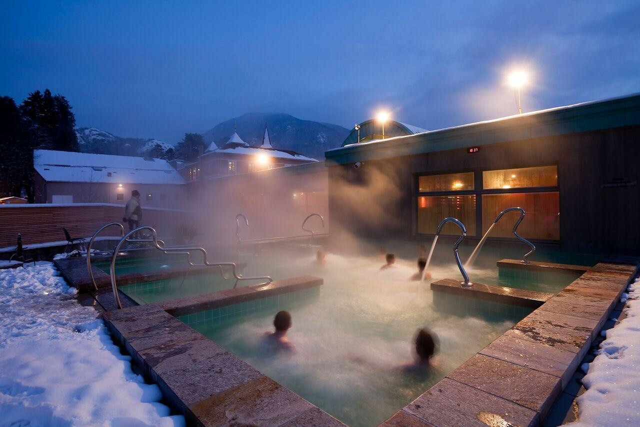 Les Bains de Couloubret, un complejo termal en el que no falta de nada FOTO: Les Pyrénées
