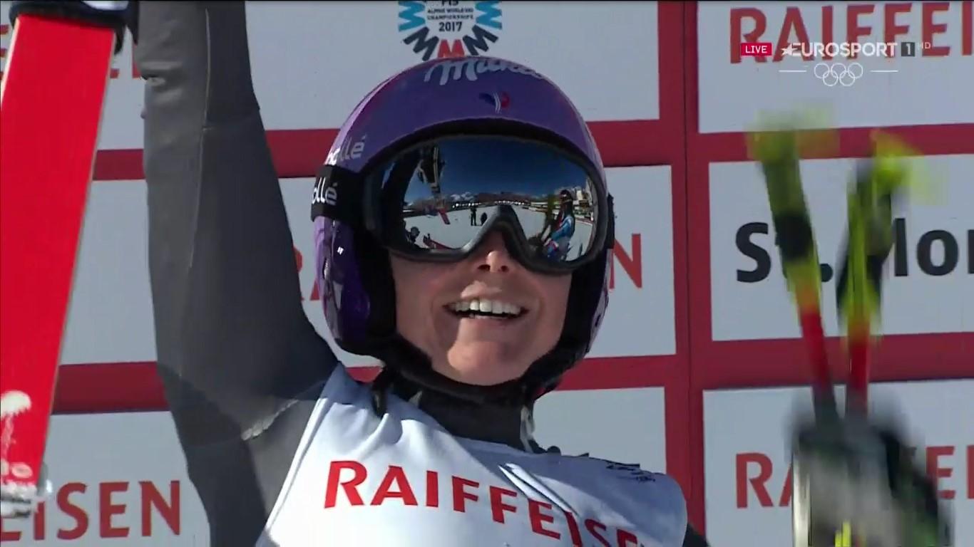 Segundo título mundial de gigante para Tessa Worley FOTO: Eurosport