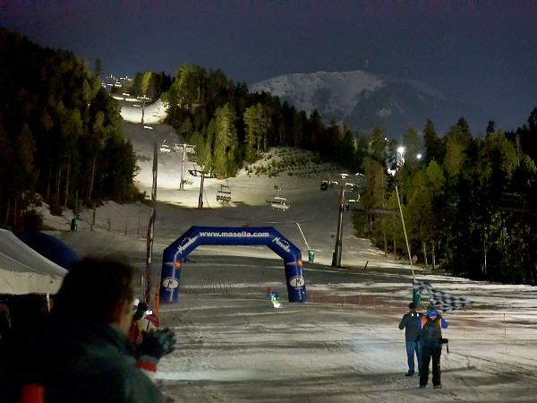 Masella cerraba el esquí nocturno el sábado pasado