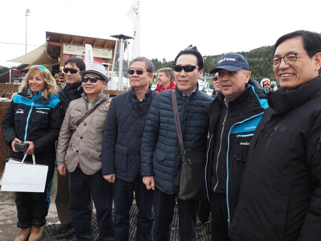 Masella, visita de Corea del Sur