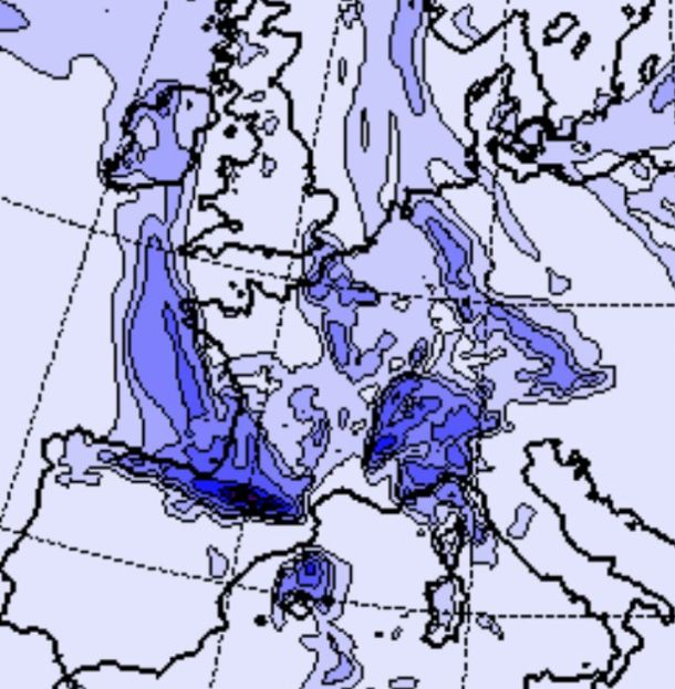 El tiempo cambiará de cara a domingo y sobre todo lunes con nevadas generalizadas y temperaturas en descenso
