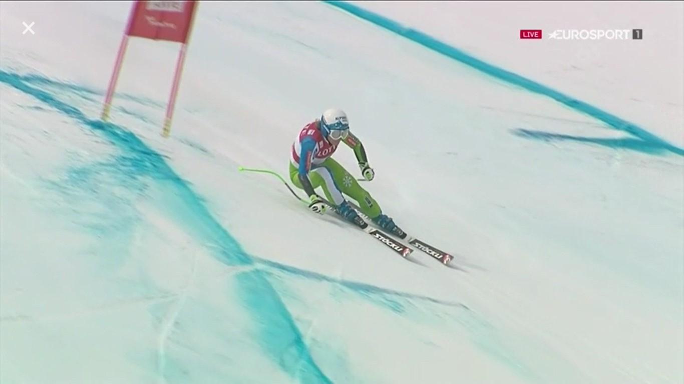 Ilka Stuhec aspira a acabar la temporada con tres Globos de cristal FOTO: Eurosport