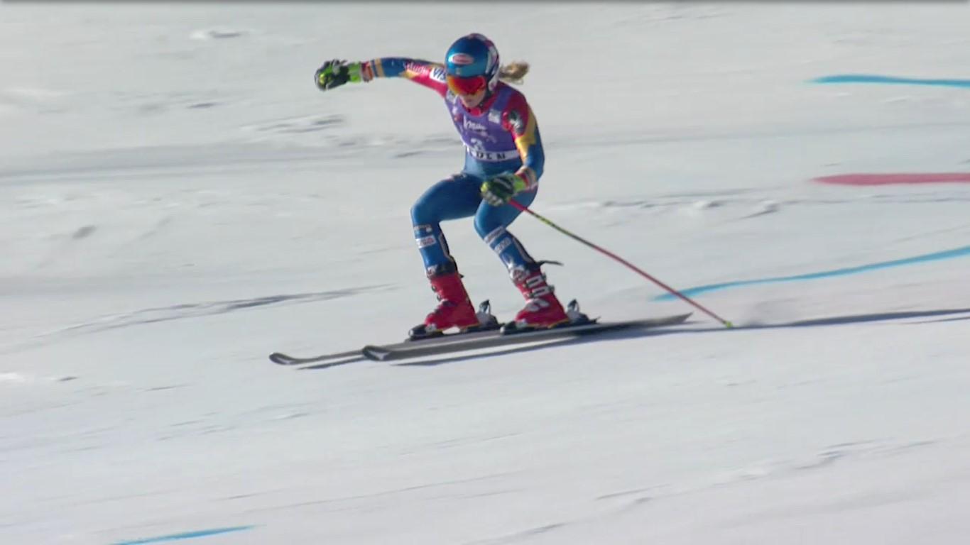 Mikaela Shiffrin ha sido la gran triunfadora de la Copa del Mundo al ganar el Gran Globo de cristal y el de slalom FOTO: Eurosport