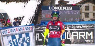 Mikaela Shiffrin se ha asegurado el Globo de slalom y ya roza el Gran Globo, del que le separan 22 puntos tras el 'doblete' de Squaw Valley FOTO: Eurosport