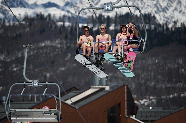 Sochi carnaval alpino Boogel Woogel