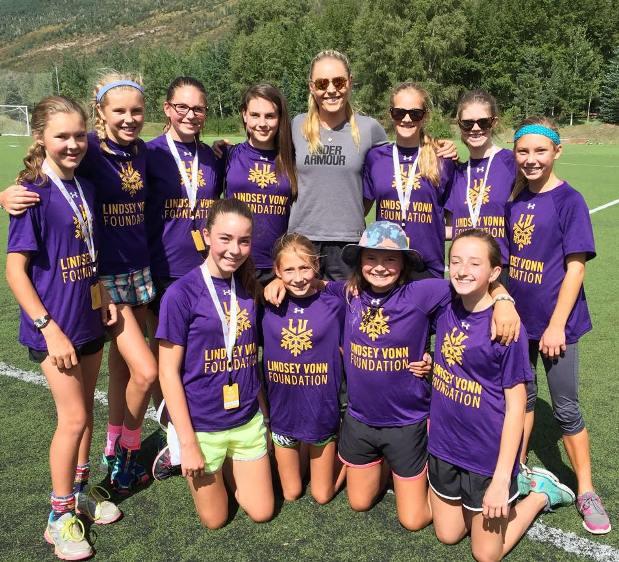 La Lindsey Vonn Foundation ayuda a las niñas a alcanzar sus sueños