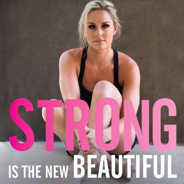 Junto a un mensaje de confianza a las lectoras, Vonn respalda en su libro su programa de acondicionamiento físico con consejos sobre qué comer y cómo hacer ejercicio.