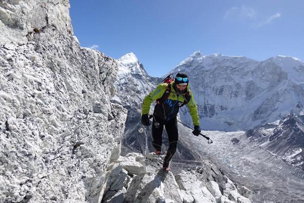 El alpinista es famoso por sus numerosos récords de velocidad