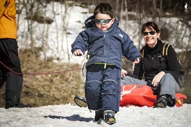 El esquí nórdico atrae a las familias, los excursionistas...