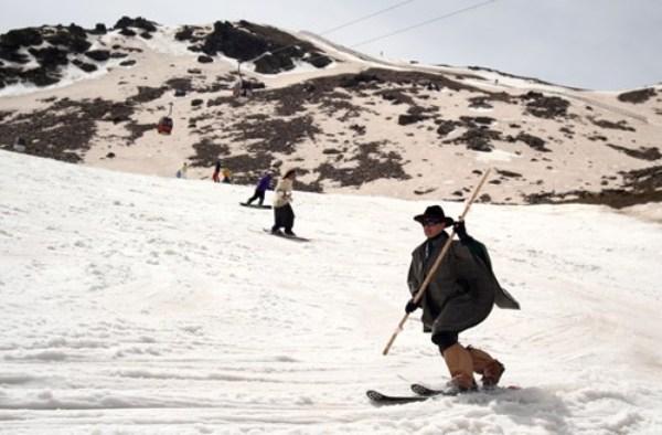La Asociación desarrollará a partir de este lunes actividades de promoción de la técnica originaria del esquí actual.