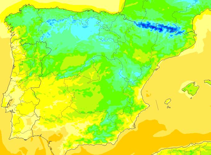 Las temperaturas continuarán siendo bajas por la época del año, con un ligero ascenso a medio día