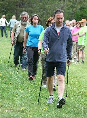 Caminata nórdica, una actividad muy recomendable