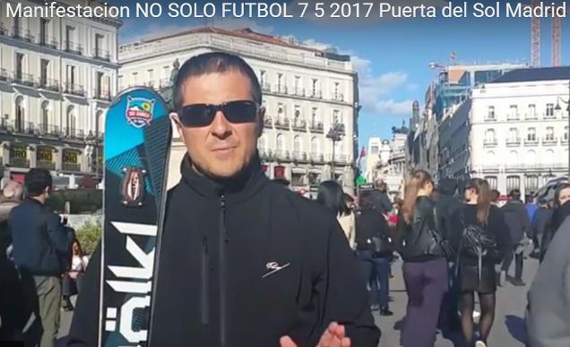Si tu deporte favorito cualquiera de los deportes de invierno, tienes una cita en la Puerta del Sol de Madrid, el próximo 7 de mayo para reivindicar más presencia deportiva en los medios de comunicación