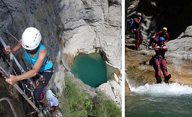 Los barrancos y las actividades de agua completan la oferta en el valle oscense