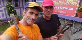 Imagen de ambos alpinistas