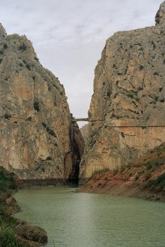 Puente colgante, un lugar de vértigo