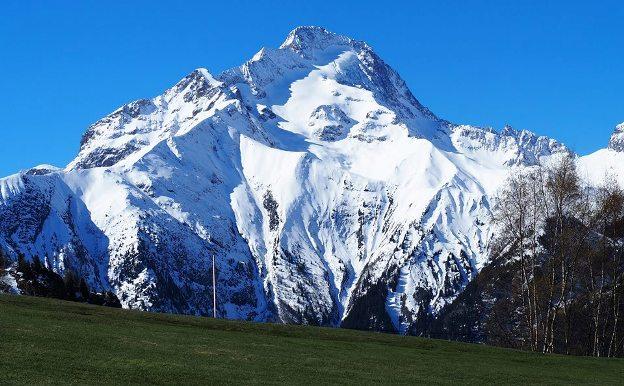La cantidad de nieve en Les 2 Alpes es destacable